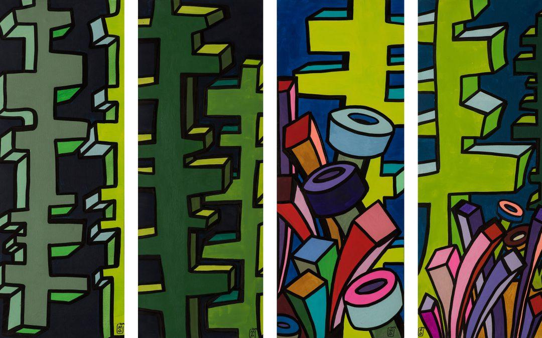 Wood I II III / Triptychon